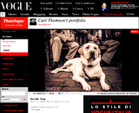Guide Dog, Lewes, Vogue Italia