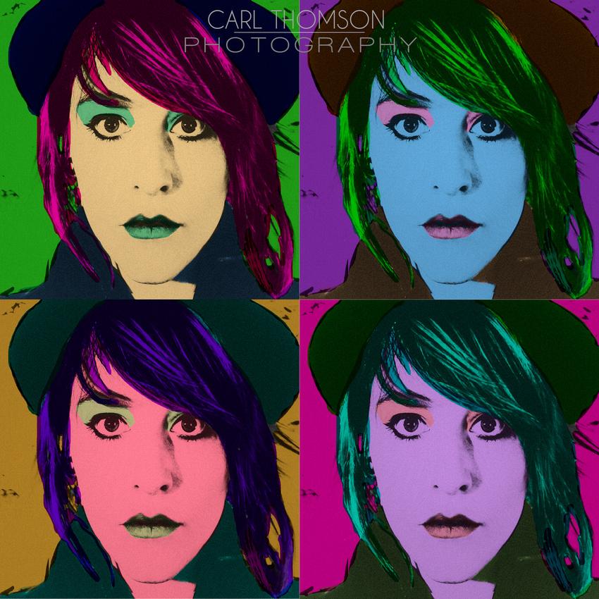 Andy Warhol Pop Art Homage